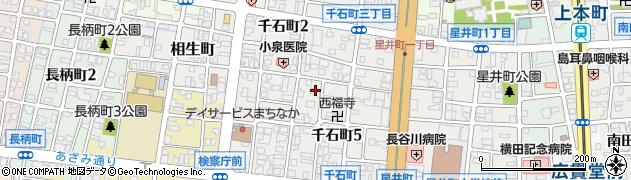 富山県富山市千石町周辺の地図