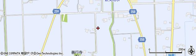 富山県高岡市醍醐醍醐横越下周辺の地図