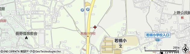 長野県長野市若槻東条周辺の地図