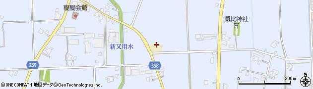 富山県高岡市醍醐横越下周辺の地図