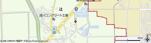 辻周辺の地図