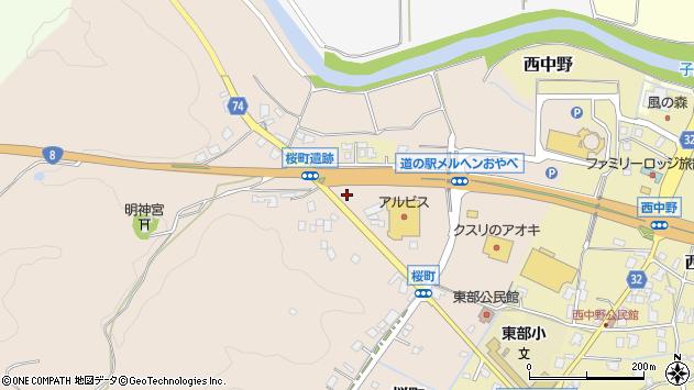 〒932-0022 富山県小矢部市桜町の地図