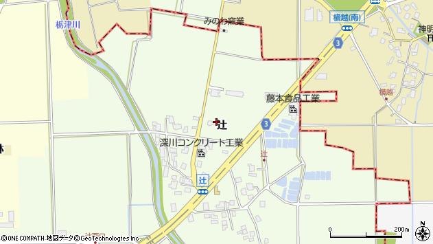 〒930-0211 富山県中新川郡立山町辻の地図