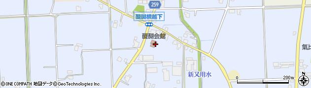 富山県高岡市醍醐周辺の地図