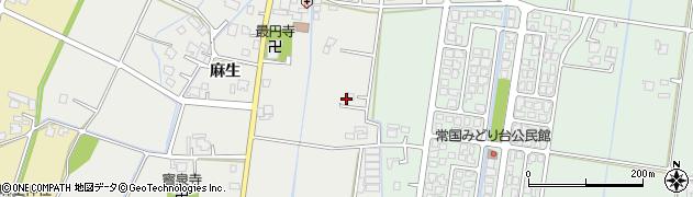 富山県高岡市下麻生周辺の地図