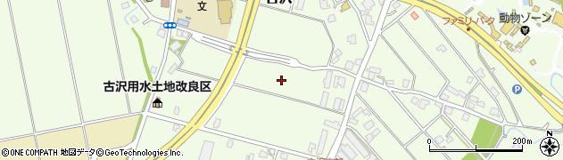 富山県富山市古沢周辺の地図