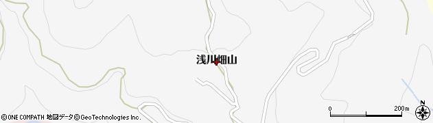 長野県長野市浅川畑山周辺の地図