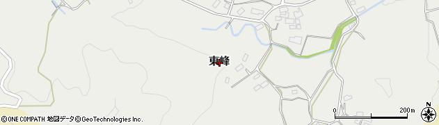 群馬県みなかみ町(利根郡)東峰周辺の地図