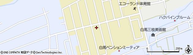 長野県白馬村(北安曇郡)エコーランド周辺の地図