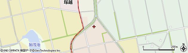 富山県富山市池多周辺の地図
