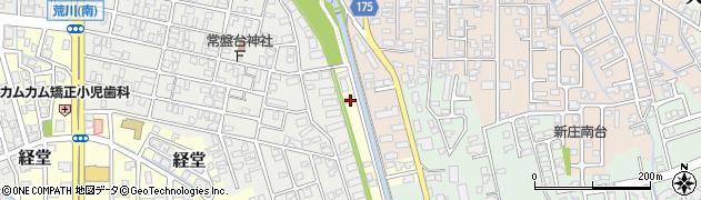 富山県富山市荒川常盤台周辺の地図