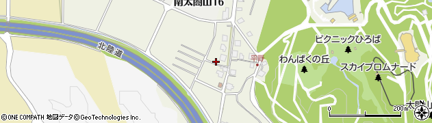 富山県射水市平野周辺の地図