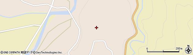 長野県白馬村(北安曇郡)蕨平周辺の地図