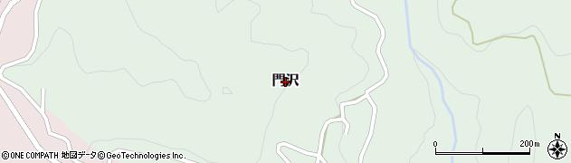 長野県長野市門沢周辺の地図
