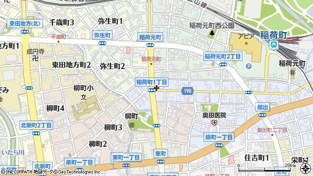 〒930-0012 富山県富山市稲荷町の地図