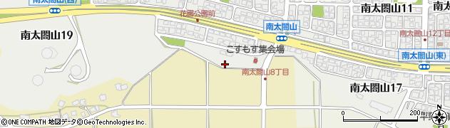 富山県射水市南太閤山18丁目周辺の地図