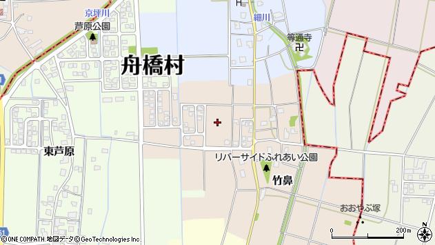 〒930-0284 富山県中新川郡舟橋村竹鼻の地図