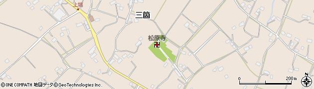 松原寺周辺の地図