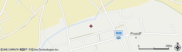 長野県白馬村(北安曇郡)瑞穂周辺の地図