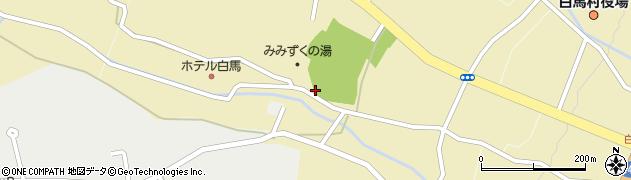 長野県白馬村(北安曇郡)八方口周辺の地図