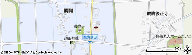 富山県高岡市醍醐須田周辺の地図