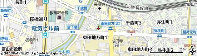 千歳神社周辺の地図