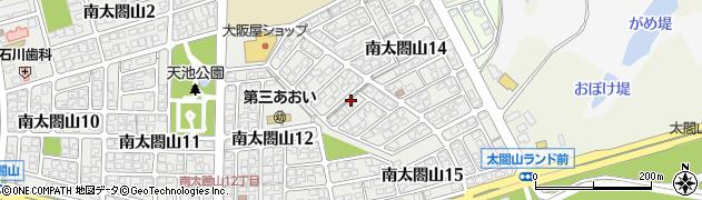富山県射水市南太閤山13丁目周辺の地図