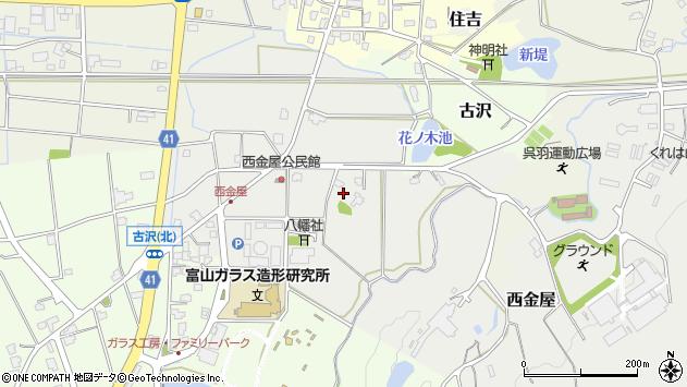 〒930-0143 富山県富山市西金屋の地図