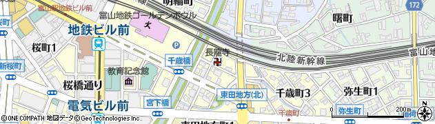長龍寺周辺の地図