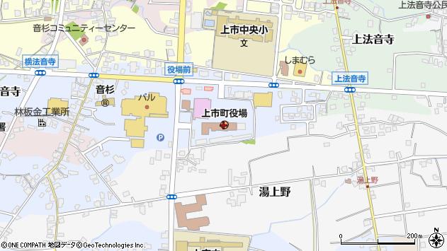 〒930-0300 富山県中新川郡上市町(以下に掲載がない場合)の地図