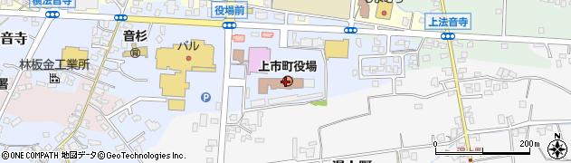 富山県上市町(中新川郡)周辺の地図