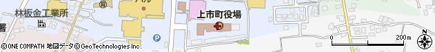 富山県中新川郡上市町周辺の地図