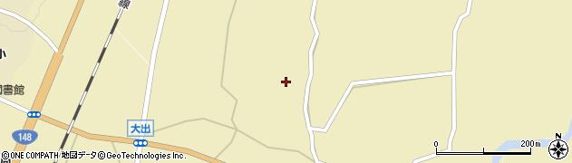 長野県白馬村(北安曇郡)大出周辺の地図