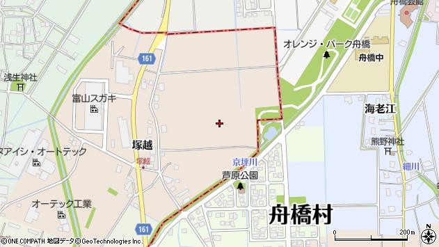 〒930-0272 富山県中新川郡立山町塚越の地図