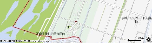 富山県射水市西広上周辺の地図