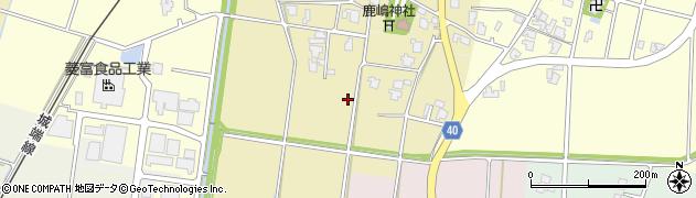 富山県高岡市東藤平蔵林周辺の地図