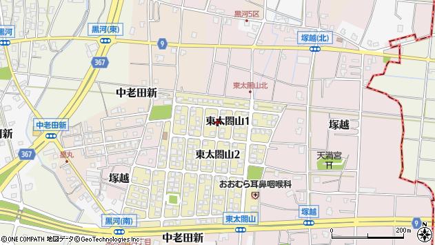 〒939-0319 富山県射水市東太閤山の地図