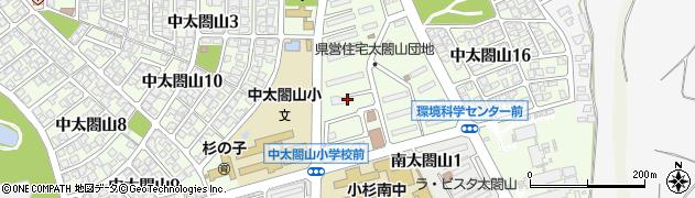 富山県射水市中太閤山13丁目周辺の地図