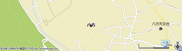 長野県白馬村(北安曇郡)八方周辺の地図