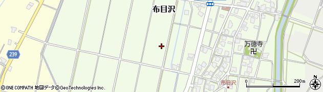 富山県射水市布目沢周辺の地図