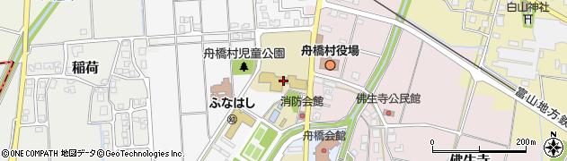 舟橋村立舟橋小学校周辺の地図
