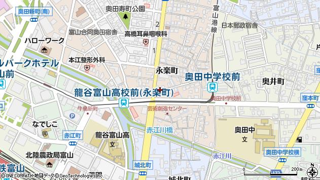 〒930-0853 富山県富山市永楽町の地図