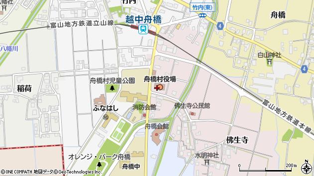 〒930-0200 富山県中新川郡舟橋村(以下に掲載がない場合)の地図