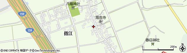 石川県かほく市指江ト周辺の地図