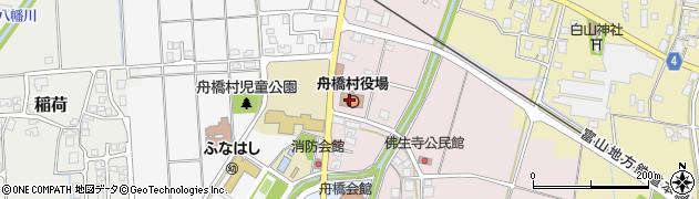 富山県中新川郡舟橋村周辺の地図