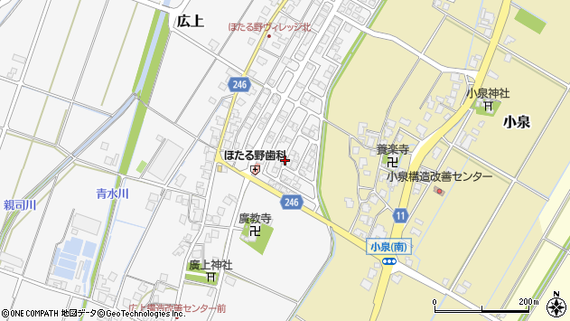 〒939-0256 富山県射水市広上の地図