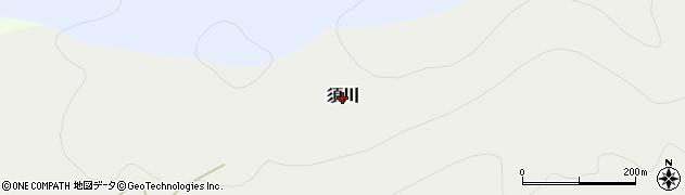 群馬県みなかみ町(利根郡)須川周辺の地図