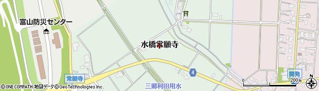 富山県富山市水橋常願寺周辺の地図