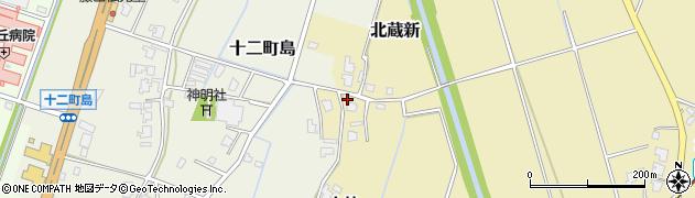 富山県高岡市大林周辺の地図