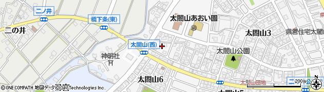 富山県射水市太閤山7丁目周辺の地図